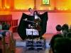 23-08-08. St-Prex (VD). Festival à l'Eglise Romane. Gautier Capuçon et les danseuses de l'école Rudra Béjart. Photo: Valdemar VERISSIMO